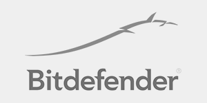 Black and White logo of bitdefender